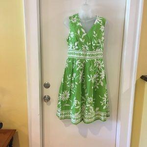Cotton summer dress, sz 10. Ex cond.